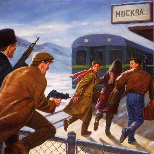 mystery on the trans siberian express - jenks