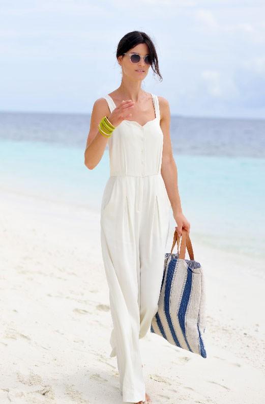 Пляжный стиль одежды 2012 — Белый цвет