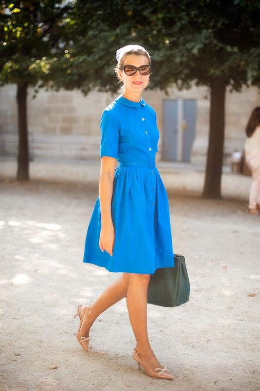 5 тенденций повседневной одежды лета 2012 —ретро шик