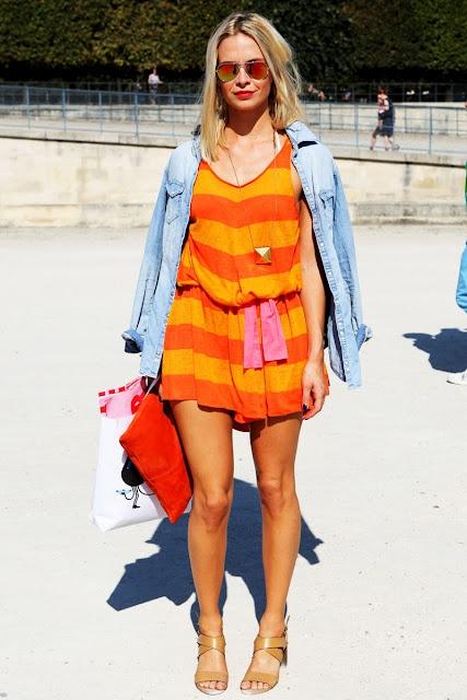 5 тенденций повседневной одежды лета 2012 —цветные полоски