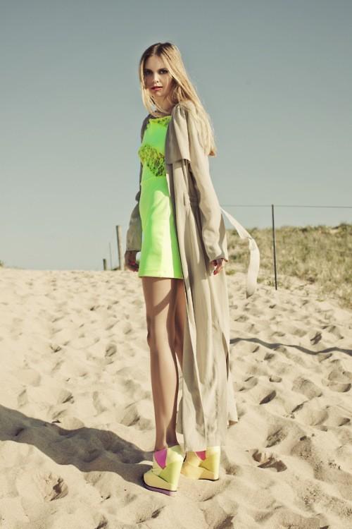 Пляжный стиль одежды 2012 — Неоновый неон