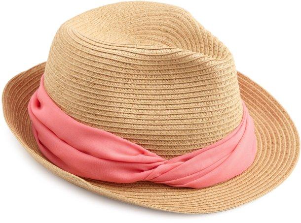 Модные шляпы лета 2012 — шляпа-федора
