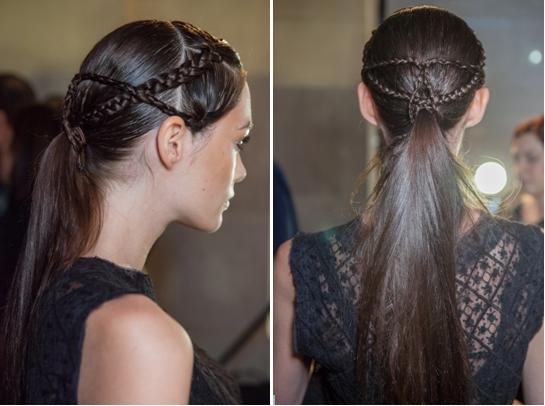 7 модных причёсок 2013 года: сложные косы