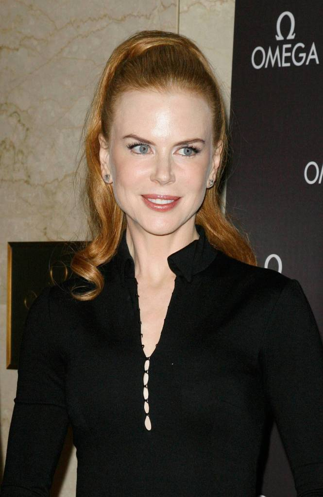 USA - Nicole Kidman Visits The Omega Flagship Boutique in New York City