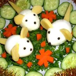 Овощные салаты для детей