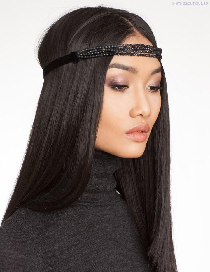 7 модных причёсок 2013 года: ленты для волос