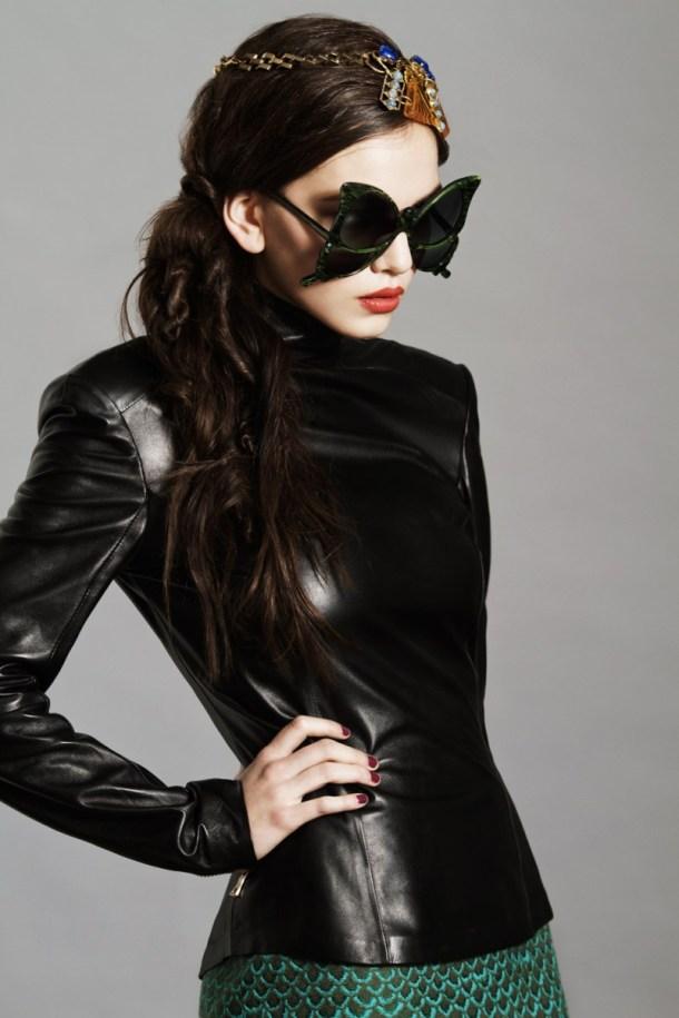 7 - Модные тенденции очки 2013 года - необычные очертания