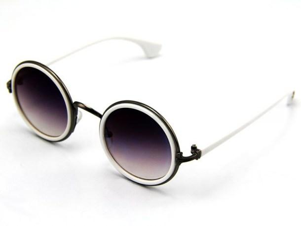 Металлическая оправа - Солнцезащитные очки - тенденции модного декора 2013