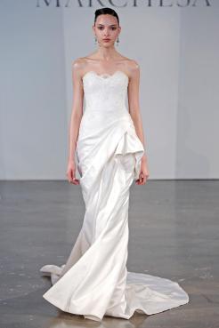 Подборка свадебных платьев от Marchesa - модная свадьба сезона весна 2013 - 16