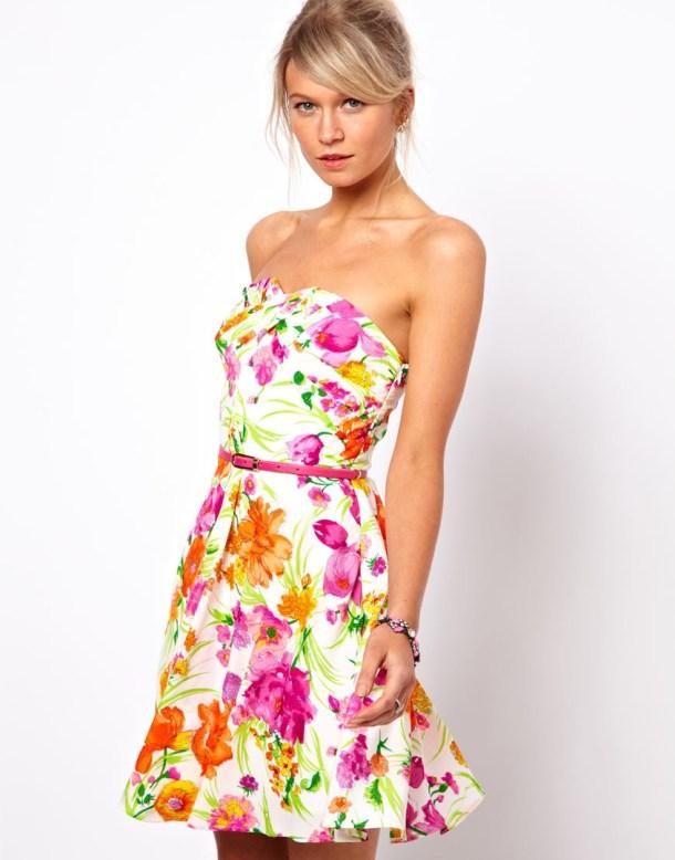 Цветочное платье - Что делать когда нечего одеть - 9 советов по выбору одежды