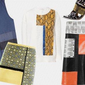 23 примера одежды и обуви из лоскутов — весенний тренд 2013 года
