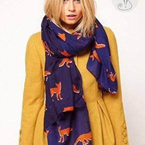 Как носить шарфы с узором: 7 способов украсить свой гардероб