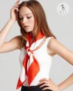 7 - Как носить шарфы с узором - Галстуки