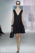 Тенденции летней женской одежды 2013 - модный чёрный цвет от Кристиана Диора 1