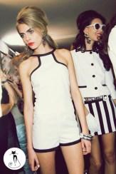 Белый комбинезон - 26 модных летних комбинезонов - лето 2014