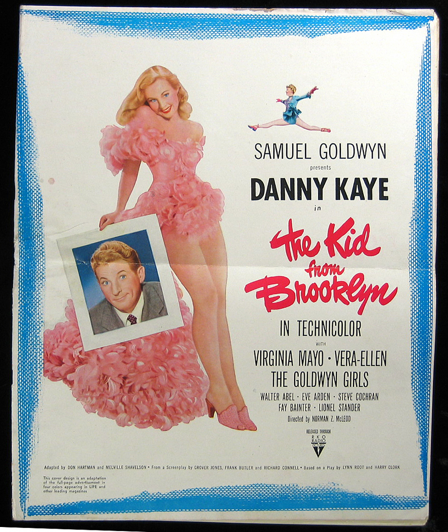 The Kid From Brooklyn (1946) poster art