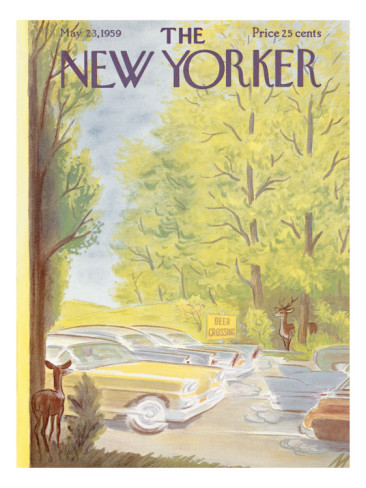 New Yorker Vintage Cover 1959