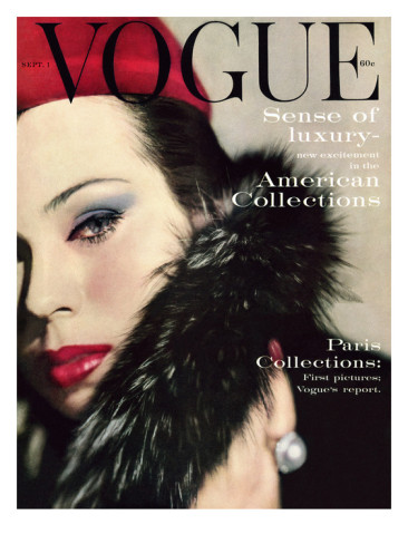 Vogue Vintage Christmas Issue 1959