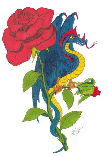 Rose Dragon