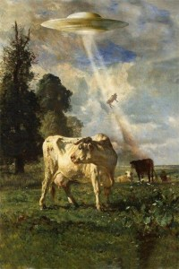 Cow Space Rapture by Richard Kadrey