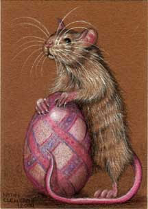 Rat Egg by Kathy Clemente