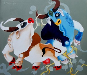 Cow and Ox | Uttam Manna