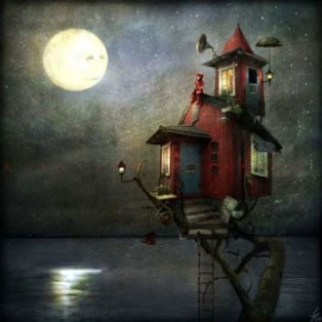 Her Only Friend The Moon | Alexander Jansson