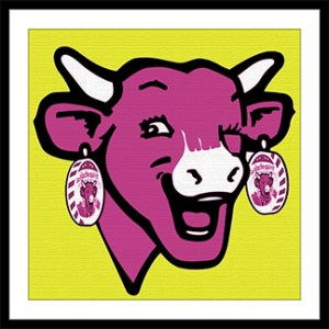 Laughing Cow Pop Art
