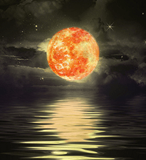 June Starwberry Moon 2015