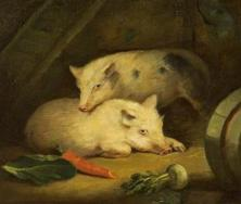 Pigs | George Morland
