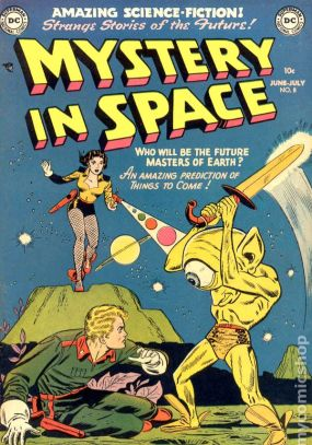 Mystery in Space | retro comic