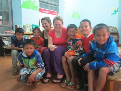 We volunteered to teach some English at the Library - cutest kids ever!