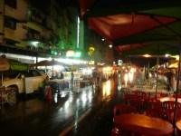 Late night food market on Jalan Alor, KL