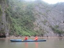 Jenn & Walker in the inlet