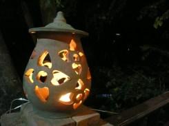 Lantern along the riverside
