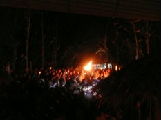 Burning man - tipsy travellers