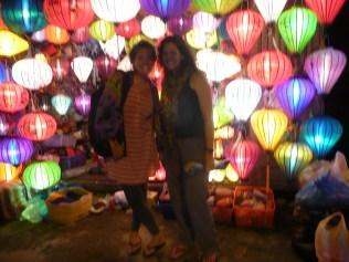 Muria and I at Lantern Corner