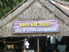 Area of Eating and Drinking