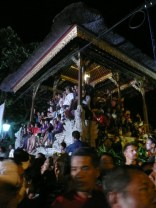Crowd at Nyepi celebration
