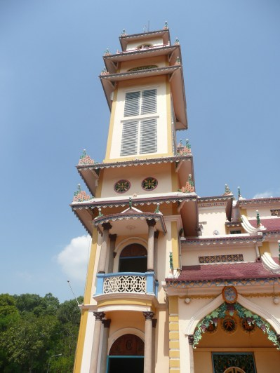 Cau Dai Temple - mix of Buddism, Taoism and Confusionism