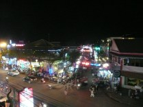 Pub Street, downtown Siam Reap