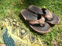 Sarong for a picnic