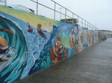 Sick street art at Bondi Beach