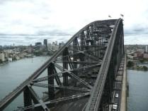 Top of Harbor Bridge pylon