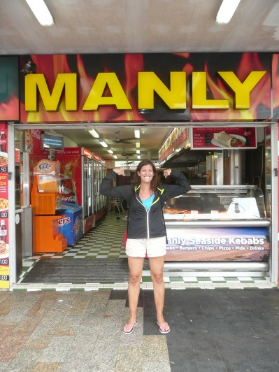 """You have to be """"manly"""" to hang out at Manly Beach"""