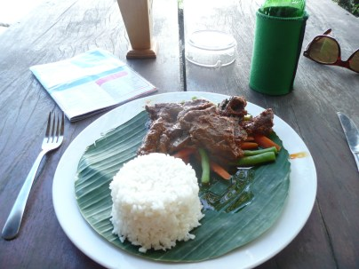 Beef Rendeng - spicy and delish