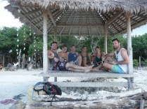 Gili crew chillin' out