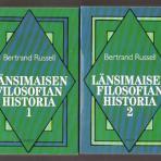 Russell, Bertrand: Länsimaisen filosofian historia I-II