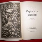 Tasso, Torquato: Vapautettu Jerusalem