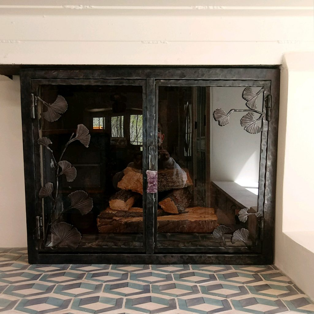 Kiva Fireplace Screens